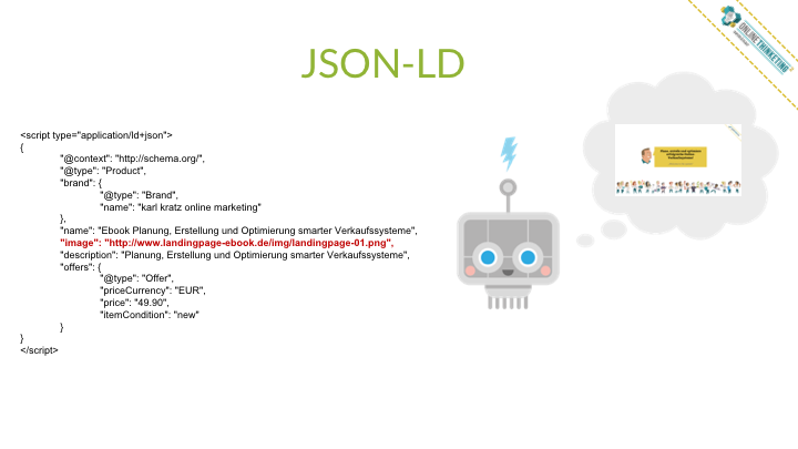 Online Marketing Seminar » Onlinethinketing » Digitale Findbarkeit » Strukturierte Daten JSON-LD